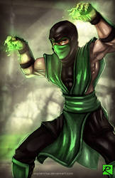 Reptile - Mortal Kombat by digitalninja