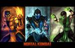 Mortal Kombat Ninja - Poster by digitalninja