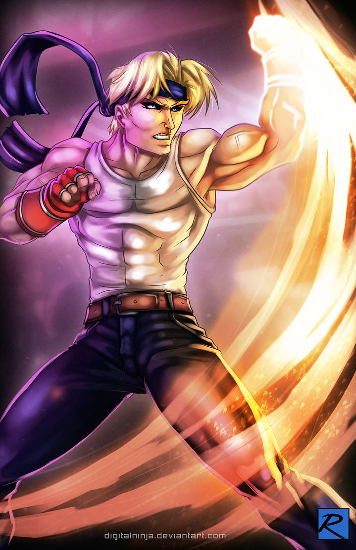 Axel - Streets of Rage by digitalninja