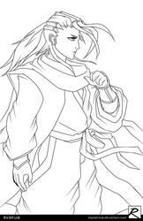 Line Art - Byakuya