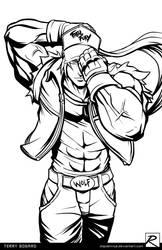 Line Art - Terry Bogard - Fatal Fury
