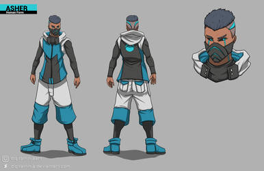 ASHER - Human Form Concept