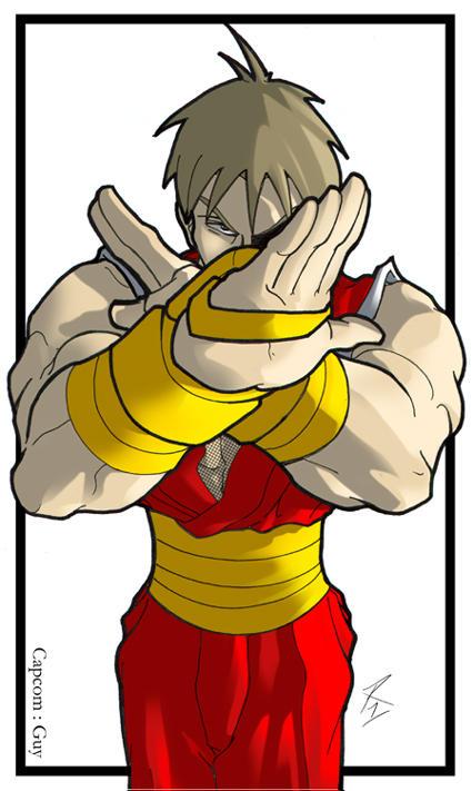 Guy - Capcom by digitalninja