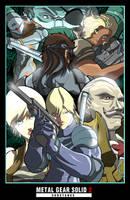 Metal Gear Solid Promo Poster by digitalninja