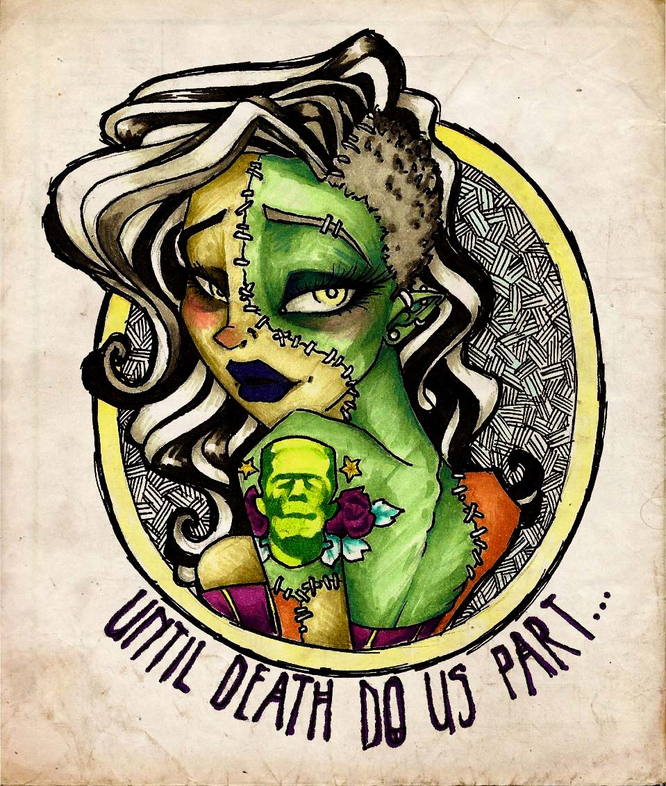 Until death do us part by charlietheblueberry on deviantart for Until death do us part tattoo