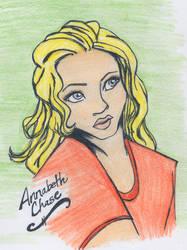 Daughter of Athena by kamanaolana