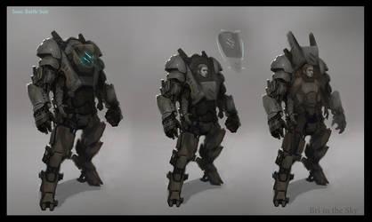 Isaac Battle Suit