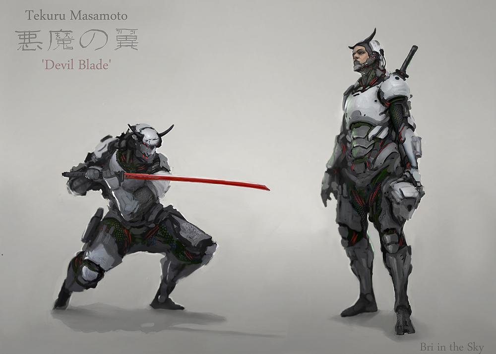 Tekuru Masamoto aka Devil Blade by Bri-in-the-Sky