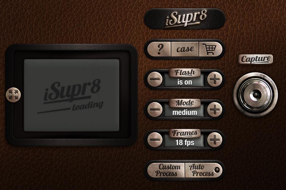 iSupr8 app interface design by naysayer
