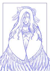 Ineda - cover sketch 2 by thooruchan