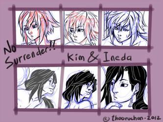 Kim and Ineda by thooruchan