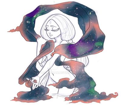Mayari, Moon Goddess by thooruchan