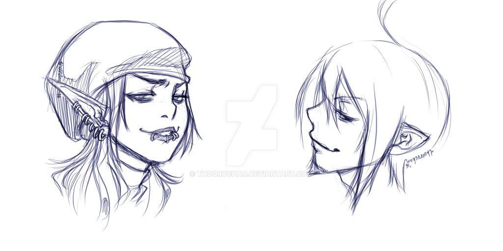 trash sketch by thooruchan
