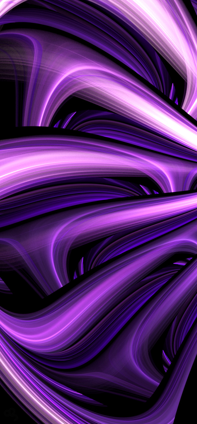 Finger Painting In Purple by CabinTom