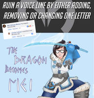 The Dragon becomes Mei by TheOnlyChi