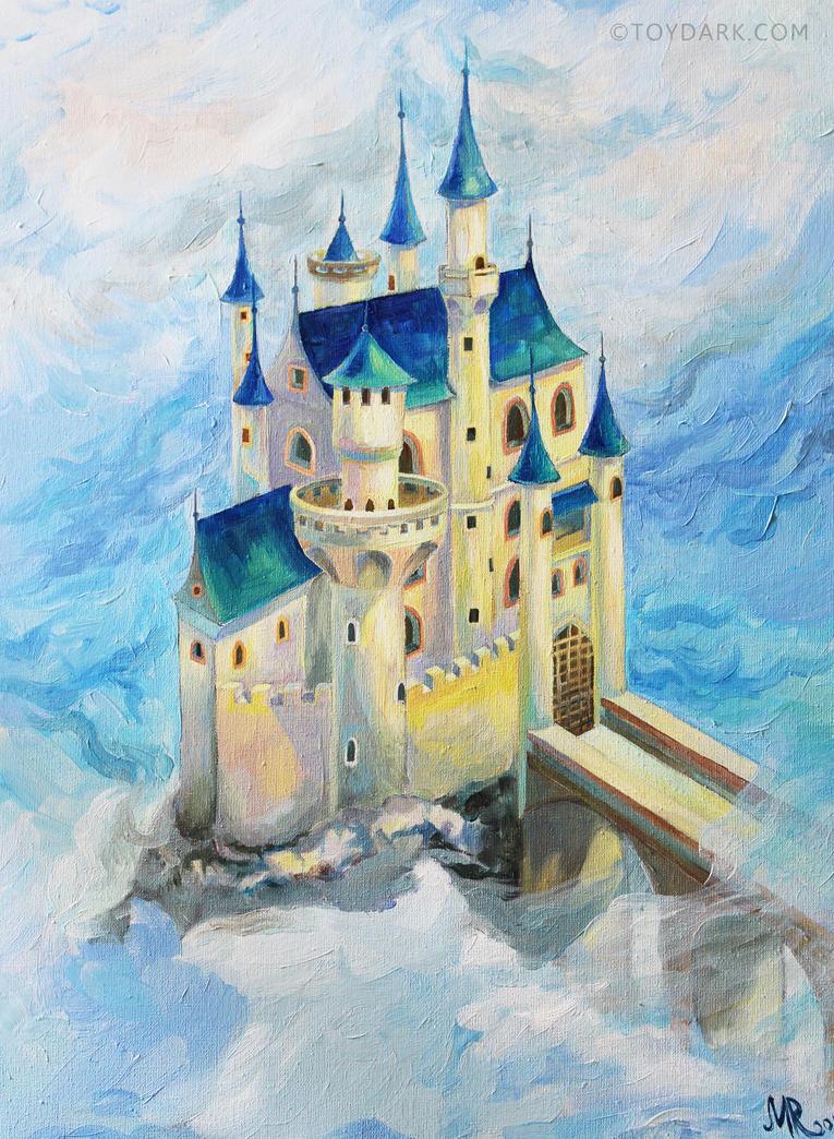Fairy Castle, oils by ToyDark