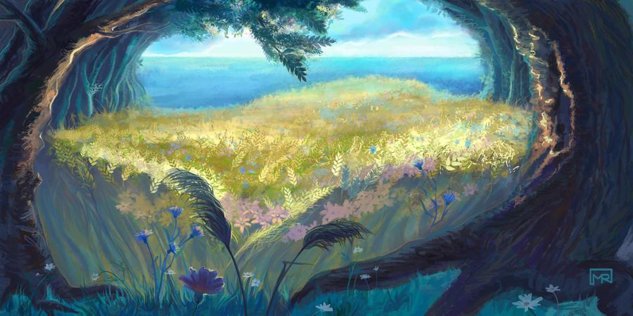 Dreamy Landscape by ToyDark