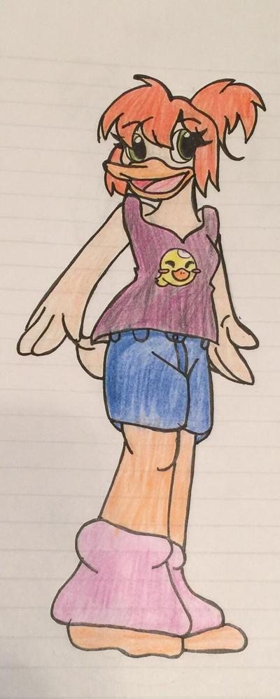 Gosalyn Mallard, 14 by SonicSailorKeyblade