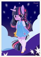 My twilight sparkle by CaTs-EyE-ArT