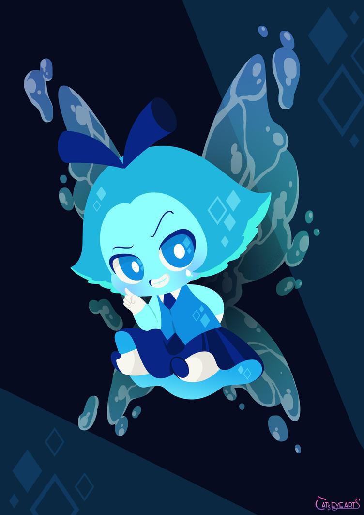 Aquamarine ★ steven universe A cute little bad little girl !! XD