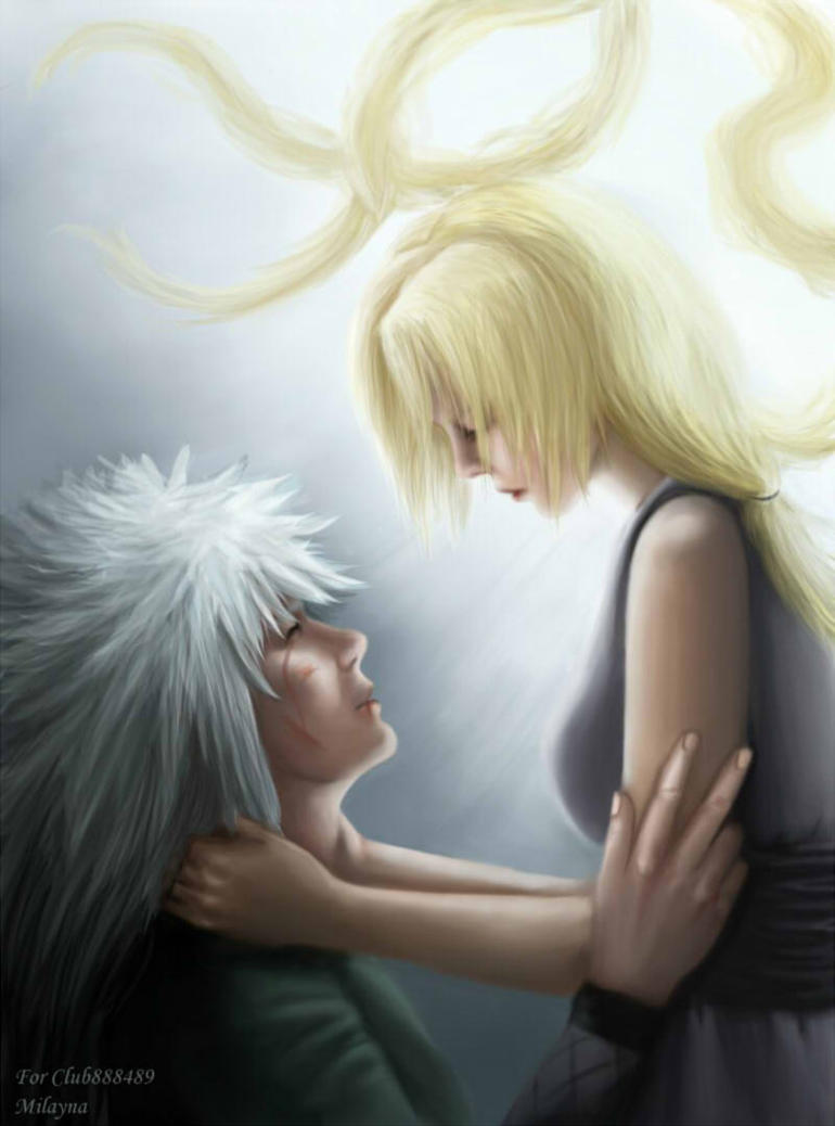 Jiraiya and Tsunade by Milayna