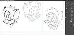 Some Facial Expressions.. by ScubaNinja2021