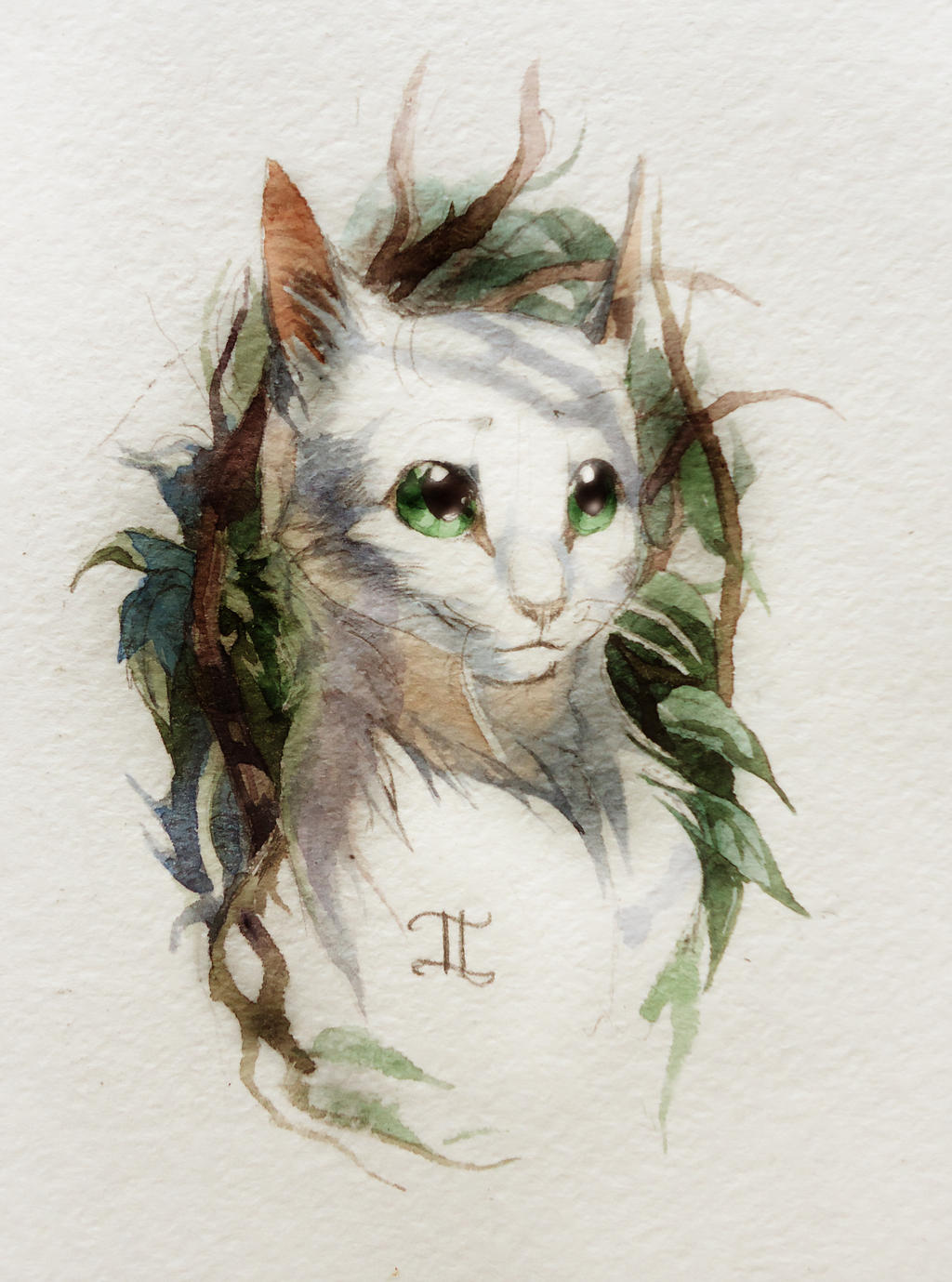 Greenstar's portrait by Flame-of-inspiration