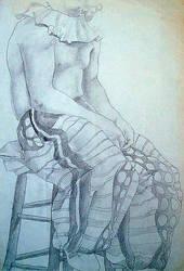 Sketchbook, life drawing IV