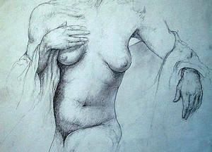 Sketchbook, life drawing V