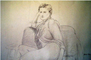 Sketchbook, life drawing VII by docdavis