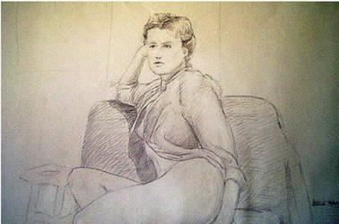 Sketchbook, life drawing VII