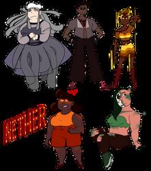 Girls of the Nether by Art-Tart-Taffyness