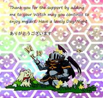 Watch thanks by HaruRyomaru86