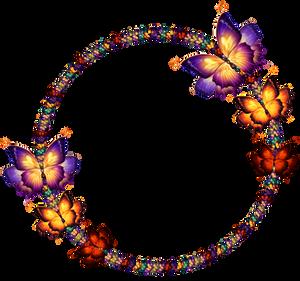 Butterfly Decorative Frame
