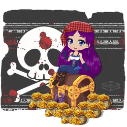 Siya the Pirate by HaruRyomaru86