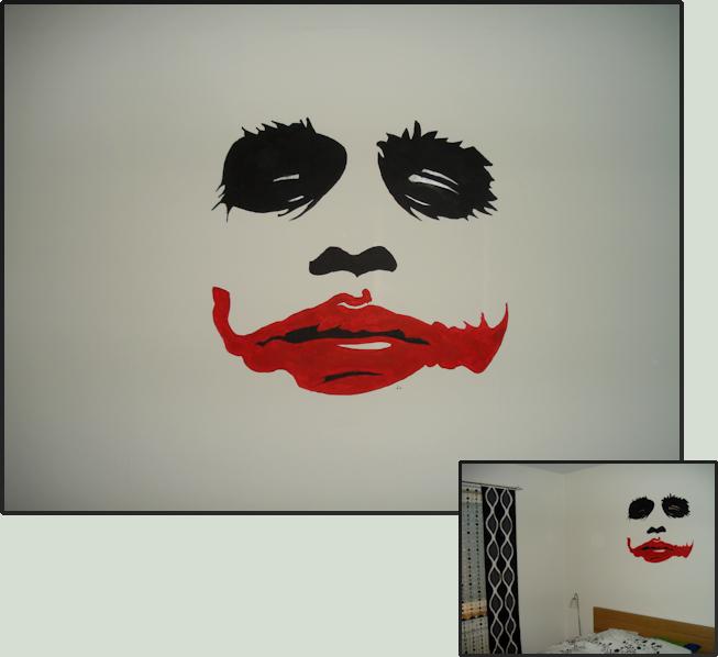 The Joker Wallpainting By Coroners On Deviantart