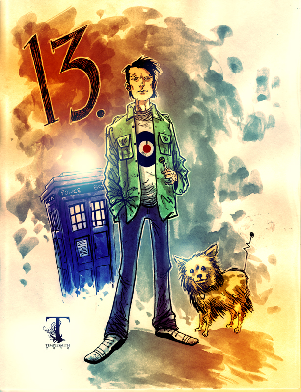 The 13th Doctor by Templesmith