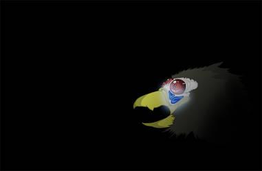 Bioluminescent Bird by invaderjen