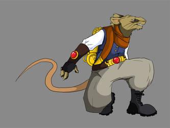 Rat dealie by invaderjen