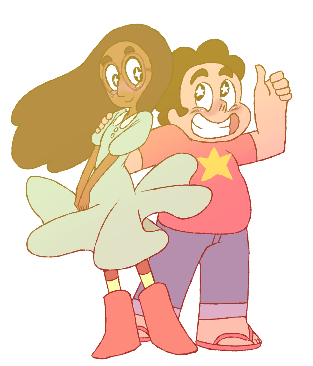 SU Connie and Steven by TheFreakyPanda