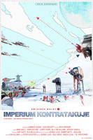 STAR WARS - EMPIRE STRIKES BACK - poster by P-Lukaszewski