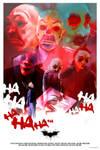 THE DARK KNIGHT - JOKER - BATMAN - poster