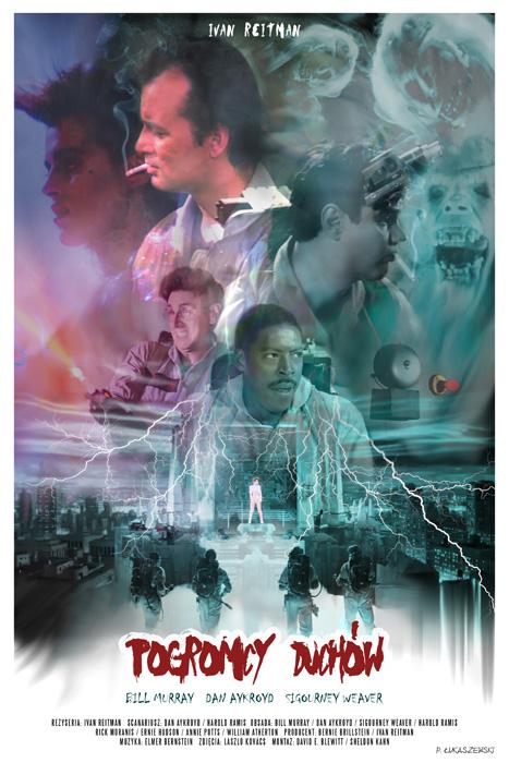 Ghostbusters Movie Poster By P Lukaszewski On Deviantart