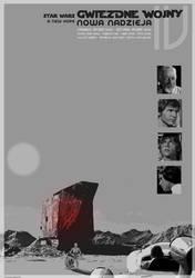 STAR WARS - A new hope - poster by P-Lukaszewski