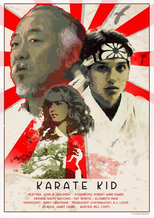 THE KARATE KID - movie poster by P-Lukaszewski