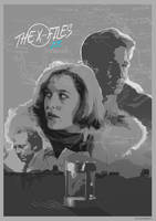 THE X-FILES - Ice - movie poster