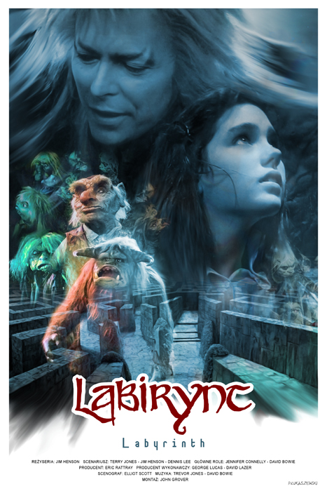 labyrinth movie poster by plukaszewski on deviantart