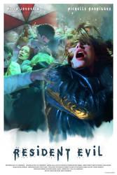 RESIDENT EVIL - movie poster by P-Lukaszewski