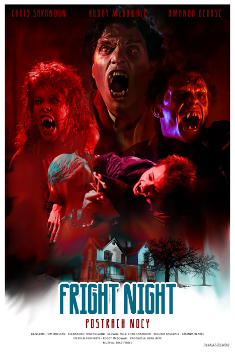 FRIGHT NIGHT - movie poster by P-Lukaszewski on DeviantArt