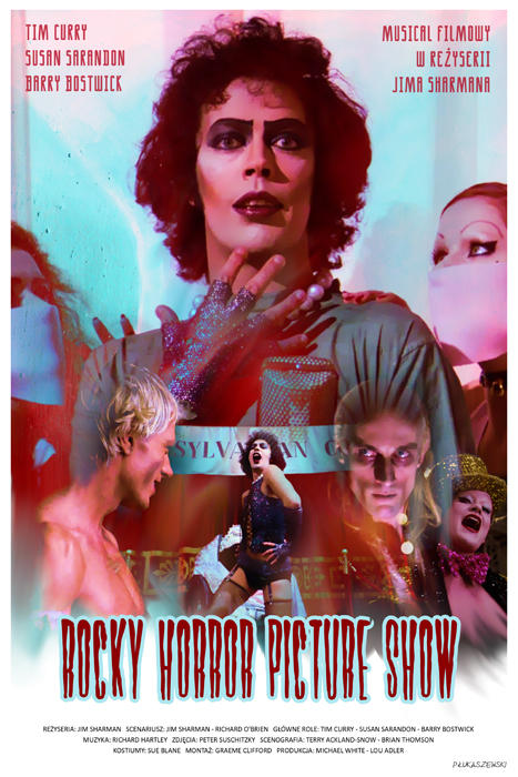 THE ROCKY HORROR PICTURE SHOW - movie poster by P ...